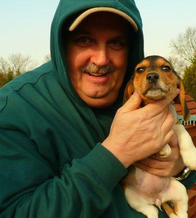 Ziggy and puppy