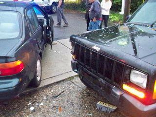 Mt  Ephraim: Two Car Crash Sends 1 to Hospital (CNBNEWS NET
