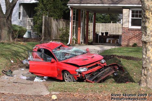 Car Accident Lastnight Near The Sugar Creek Exit