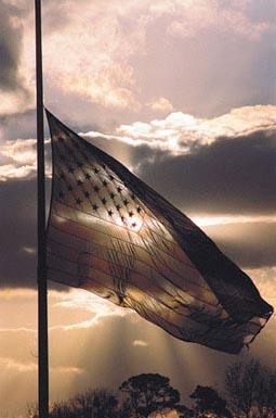 Flag-at-half-staff