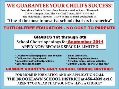 Brooklawn Ad 2011