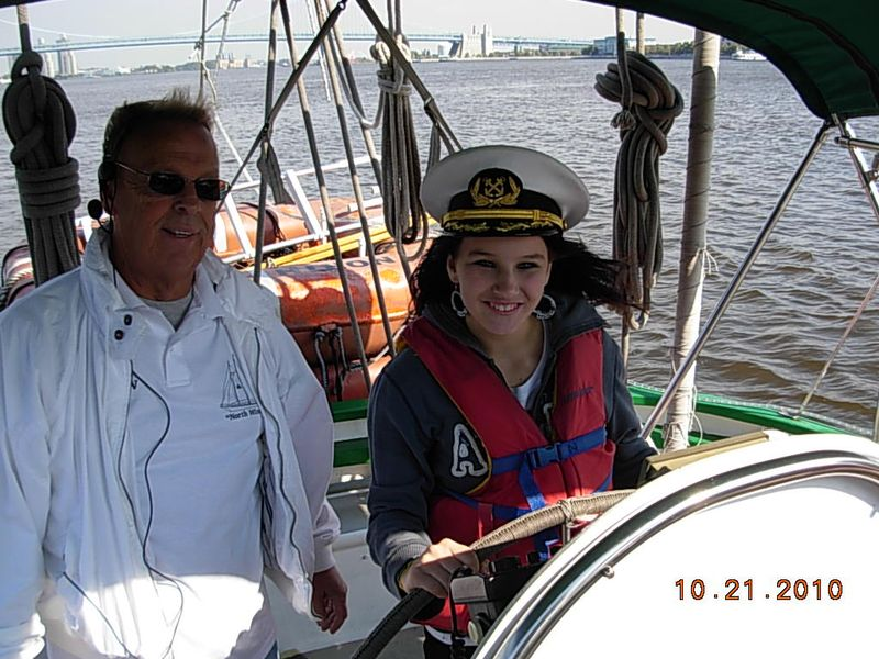On Thursday October 21st Students from Gloucester City High School enjoyed  a field trip on the Schooner NorthWind.