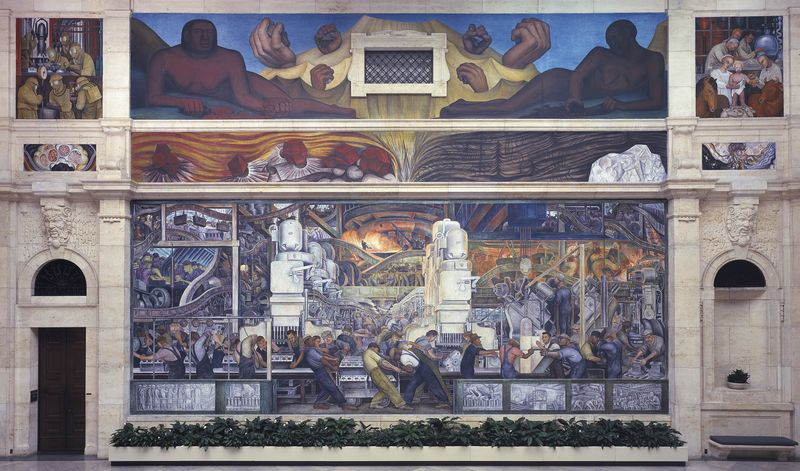 Detroit Industry Murals - North Wall