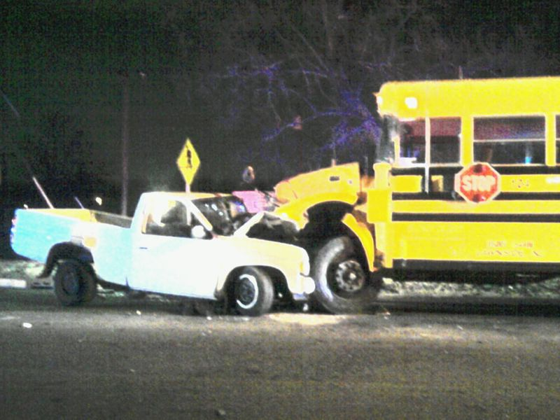 Breaking News: School Bus Involved in Traffic Accident (CNBNews)