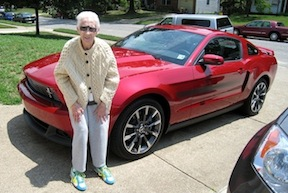 Photo Gert with Mustang-3