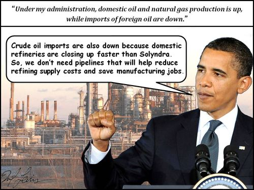 Domestic Energy Policy FAIL