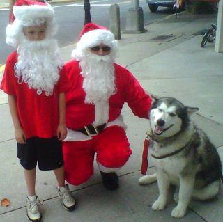 Sedna and Santa