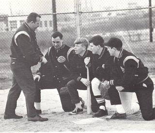 Joe Murphy as a coach 1966