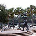 Neptune Statue Sundial