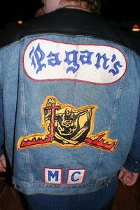 Pagans mc emblem