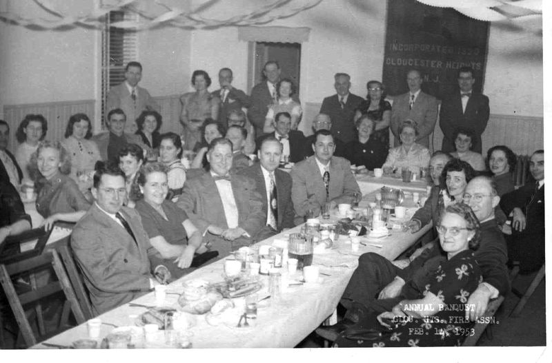 Gloucester Hts Fire Company Annual Banquet 1953
