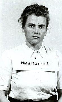 Maria_Mandel-SS-Wafen-Guard-Warr-Criminal