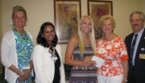 LaurelAux scholarship winner