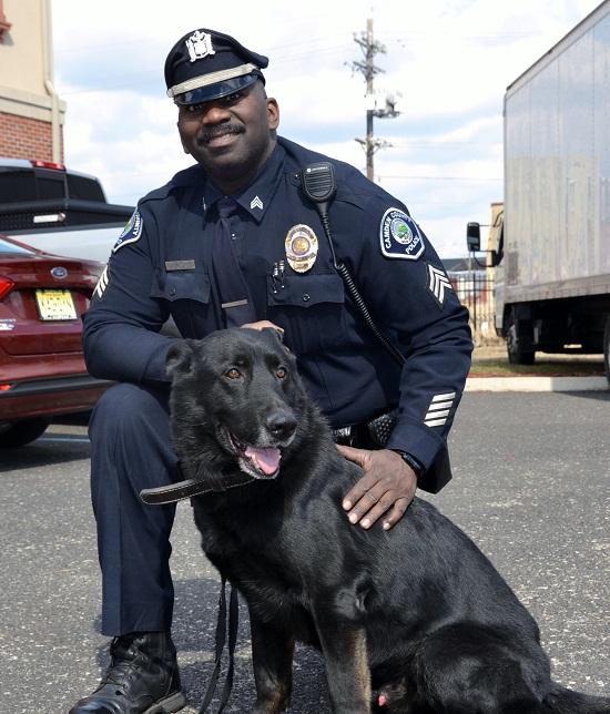 Camden City K9 Officer Zero Succumbs Cnbnews Net