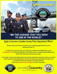 LEE police exam flier - new