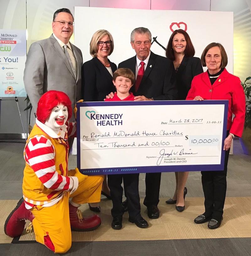 Ronald McDonald Donation 2017