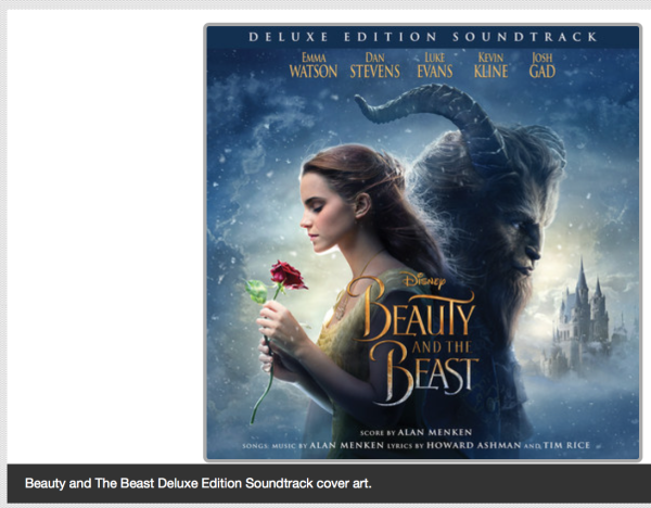 Disney S Beauty And The Beast Original Motion Picture Soundtrack Available Cnbnews