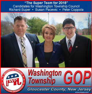 The Super Team for Washington Twp Council 2018 Banner - 660 x 673