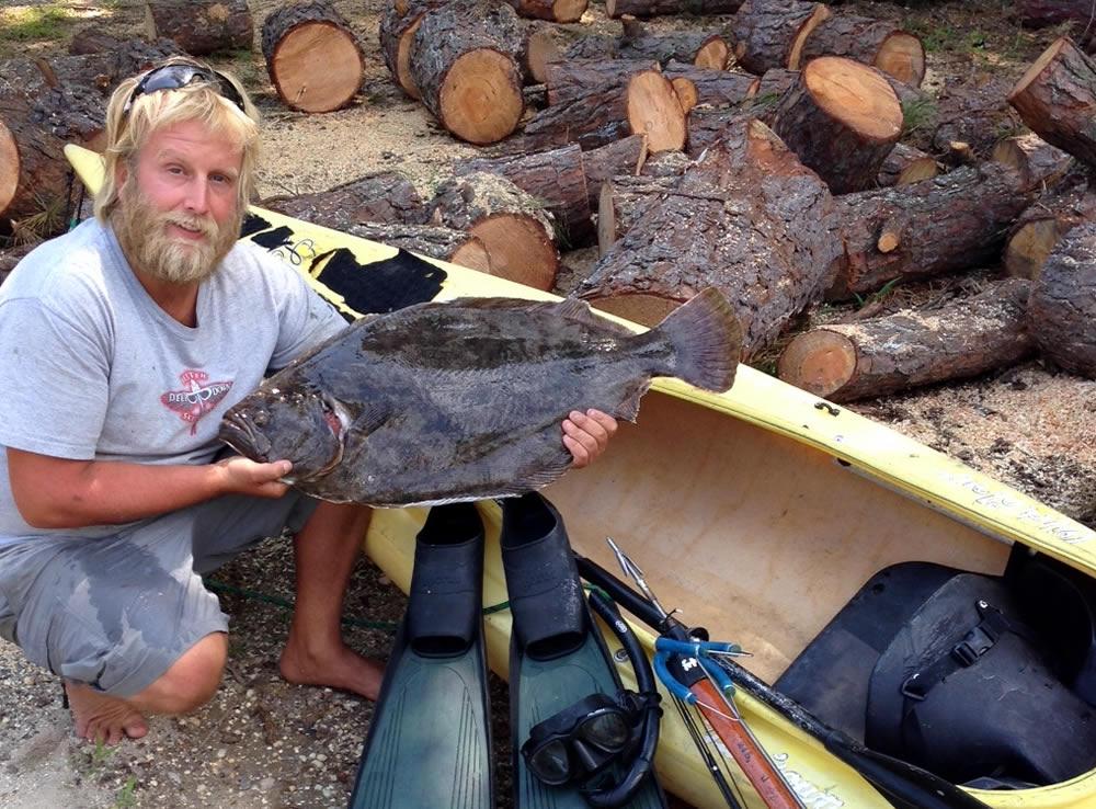 Cnb hunting fishing news first nj record fish by for Fluke fishing nj