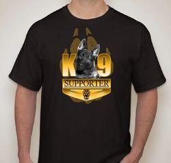 K-9 shirt (front)
