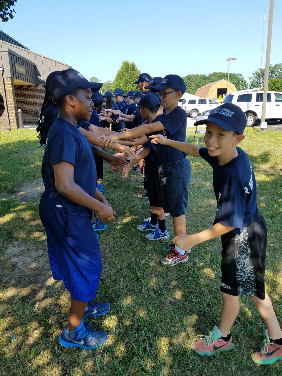 Winslow Township Junior Police Academy Graduation Ceremonies Friday Cnbnews Net Gloucester City