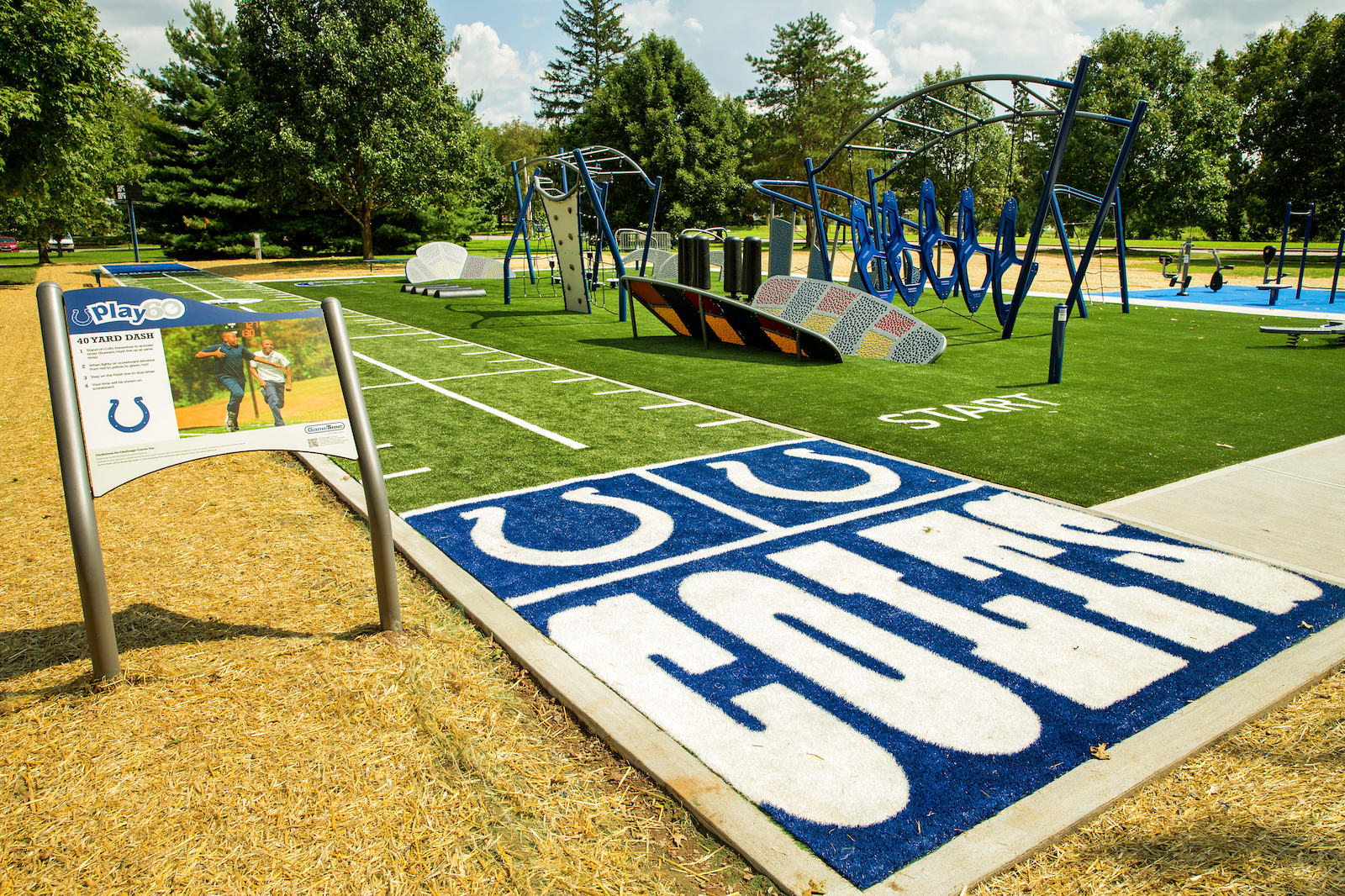 Outdoor Play Indianapolis  INDIANAPOLIS, IN (September 21, 2016)  GameTime, a leading manufacturer of commercial playground equipment, custom play spaces and outdoor fitness products ...