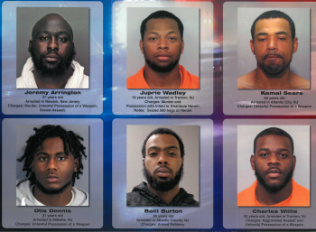 New Jersey State Police Violent Offender Fugitive Sweep Nets Over