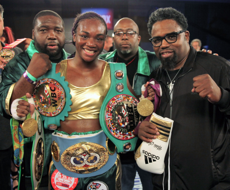 Claressa-Shields-Belts-Detroit