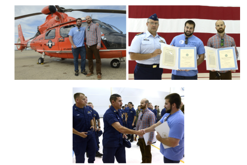 Coast Guard awards Philly brothers for lifesaving efforts