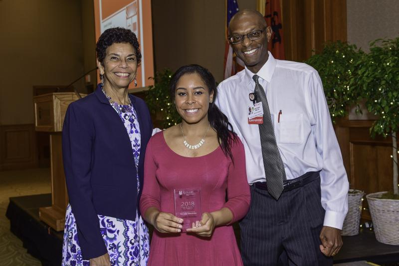 2018 Cooper Civic Award winner --shenelle Alexander
