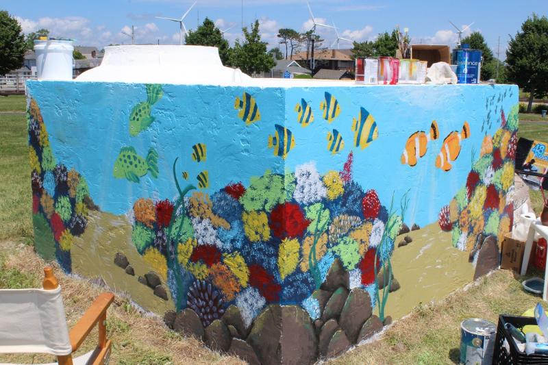 L. Brisco mural - 48 Blocks - 06-20-18