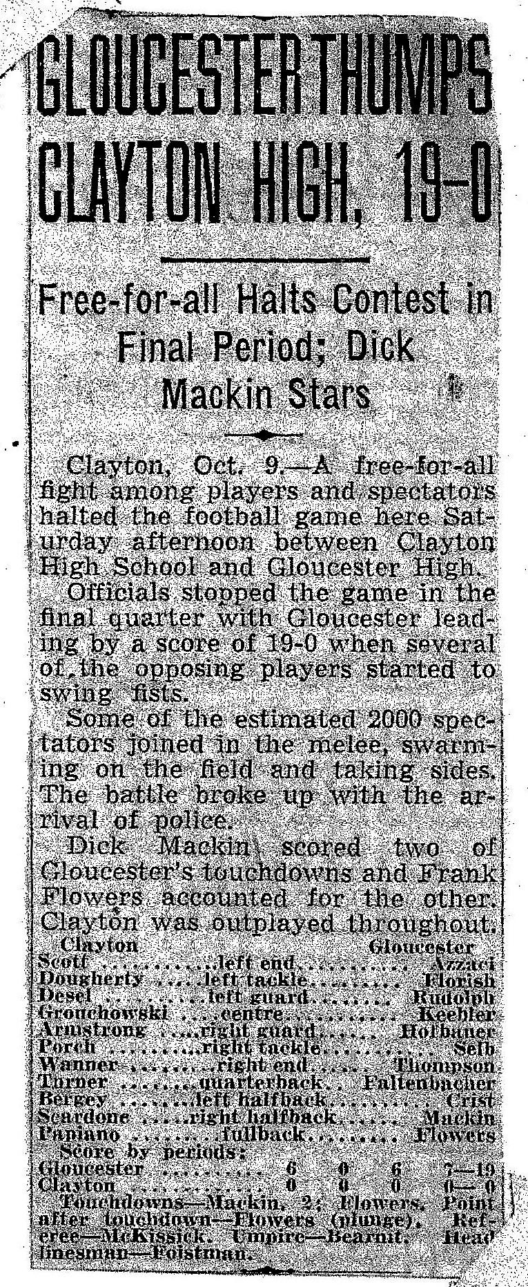 Gloucester HS -Clayton Football Game 001 (2)
