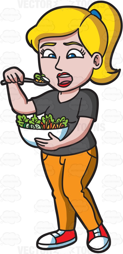 Women-eating-healthy-food-collection-007