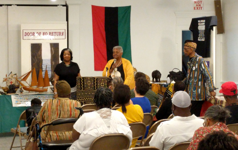 Revisiting Our Roots Exhibit by Edna Davis