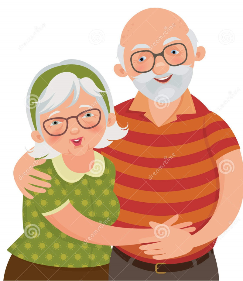 Happy-old-couple-vector-illustration-loving-elderly-32799159
