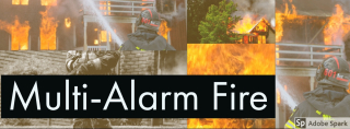 Multi alarm fire
