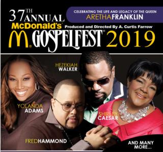 New Artists Added to McDonald's Gospelfest (CNBNews)