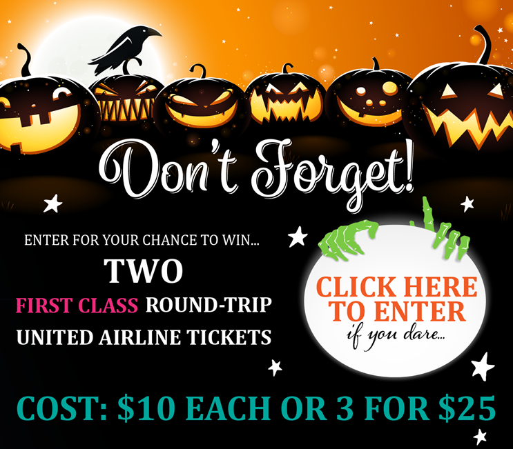 Dont Forget Halloween Raffle Invite