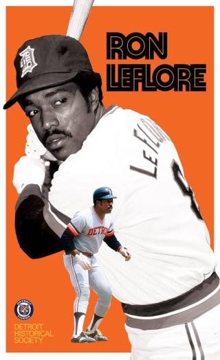 Ron-LeFlore-Poster-Detroit-Historical-Museum