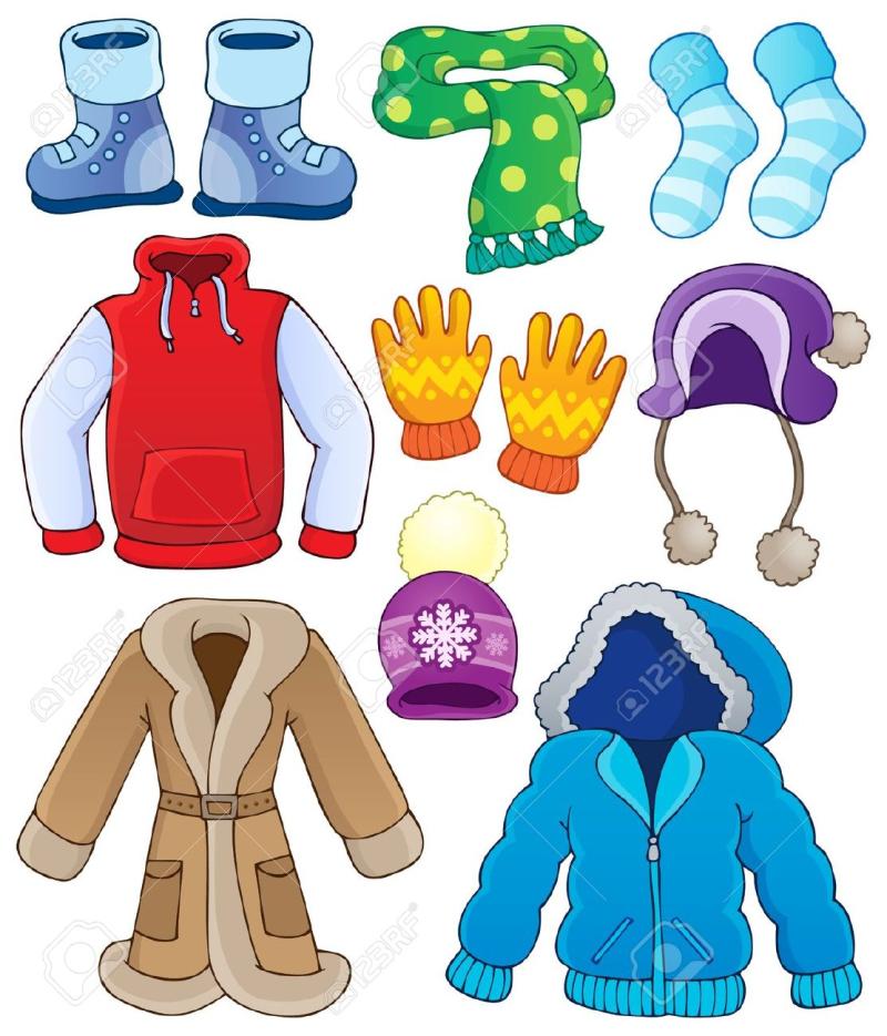 22502411-winter-clothes-collection-stock-vector-cartoon