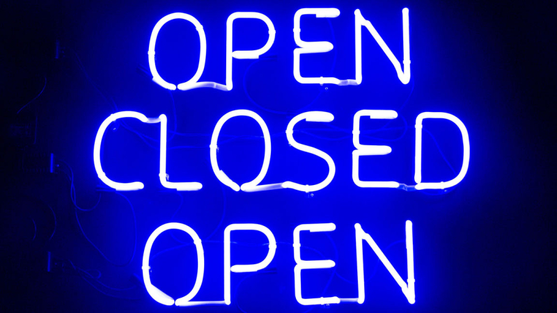 Open-and-closed