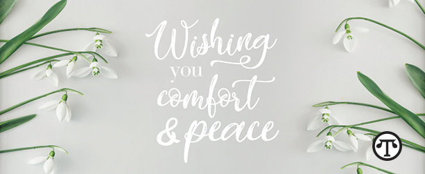 Wishing You Comfort And Peace Cnbnews