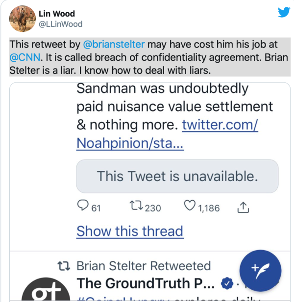 Brian stelter crying
