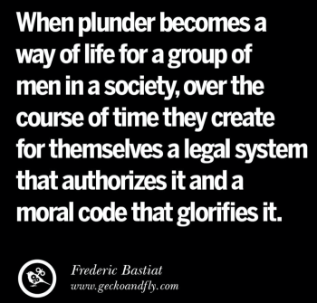 Politicians and plunder