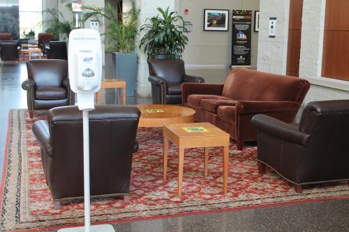 Stockton Campus Center lobby