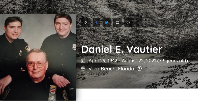 Daniel E. Vautier Obituary (1942 - 2021)  Vero Beach  Florida