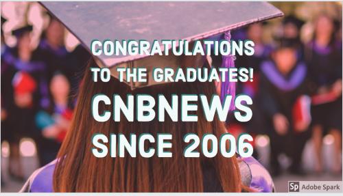 Congrats to graduates 2