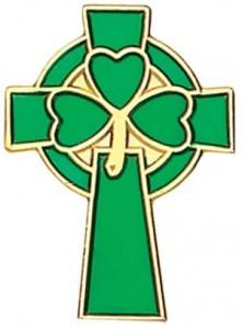 3801-5757-IrishShamrockCross