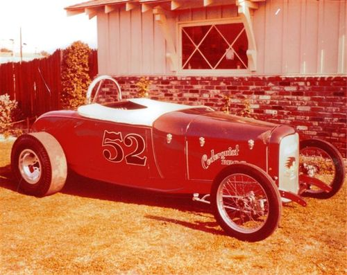 Bill Wibby Yeager's 1929 Race car