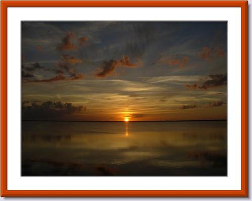 A Beautiful Sunset in the Florida Keys